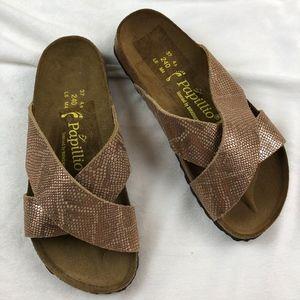 NWOB Papillio Birkenstock Daytona Slide Sandals